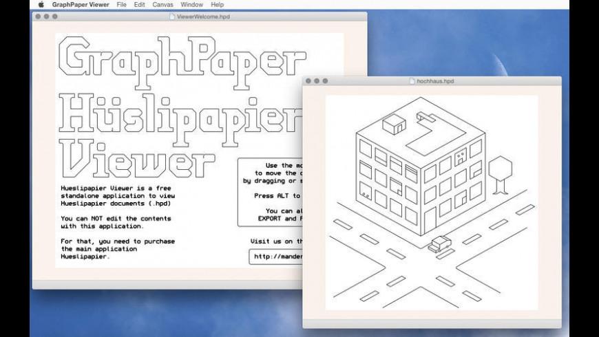 Graph Paper Viewer for Mac - review, screenshots