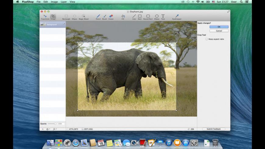 PixelShop for Mac - review, screenshots