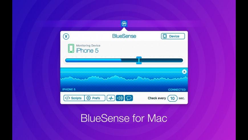 BlueSense for Mac - review, screenshots