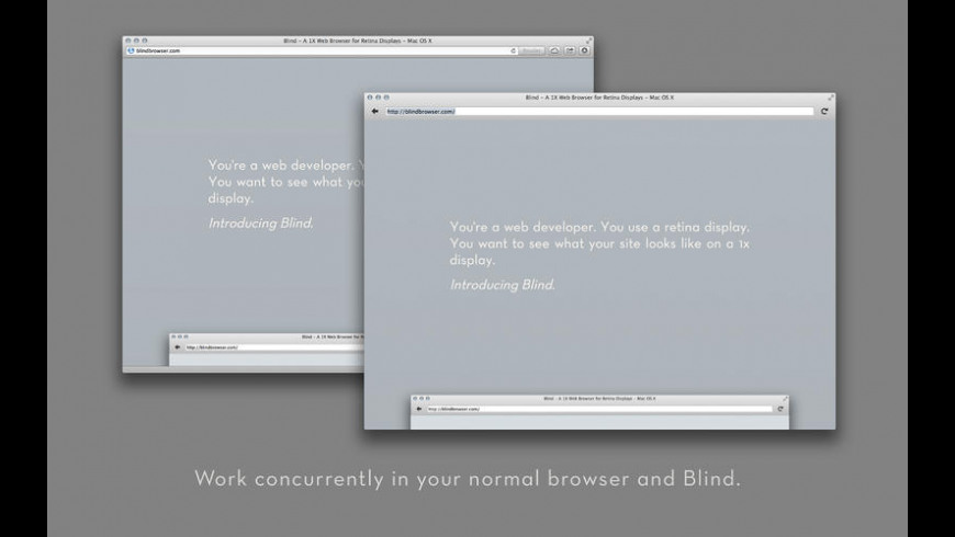 Blind for Mac - review, screenshots