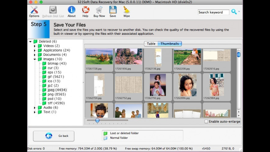321Soft Data Recovery for Mac - review, screenshots