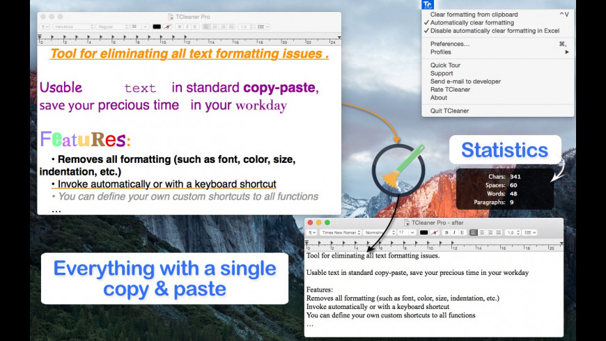 TCleaner for Mac - review, screenshots