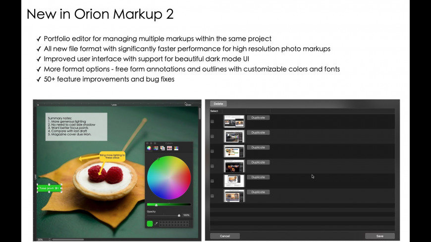 Orion Markup 2 2 06 Free Download for Mac | MacUpdate