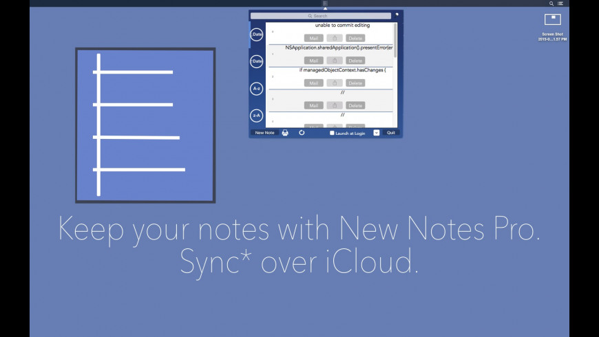 New Notes Pro for Mac - review, screenshots