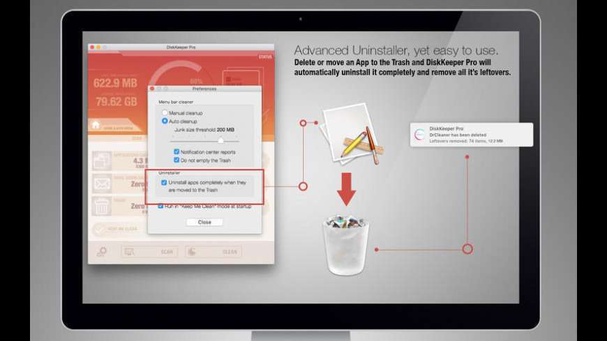 DiskKeeper Pro for Mac - review, screenshots