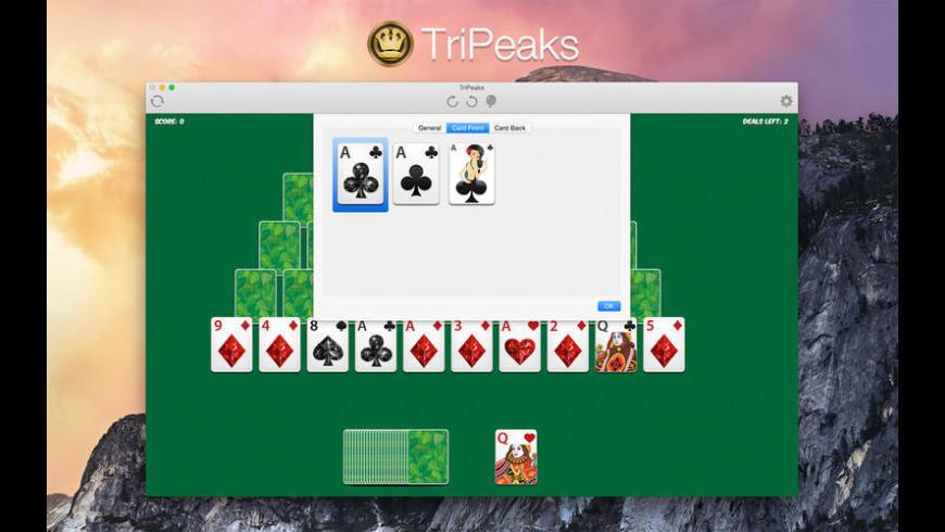 Tripeaks for Mac - review, screenshots