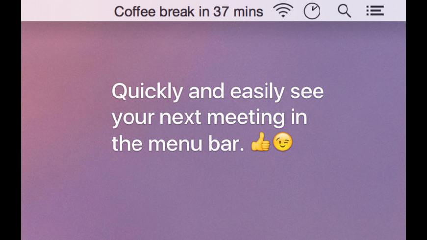 Next Meeting for Mac - review, screenshots