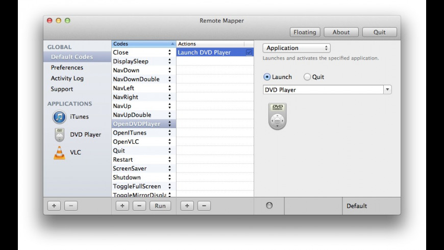 Remote Mapper for Mac - review, screenshots