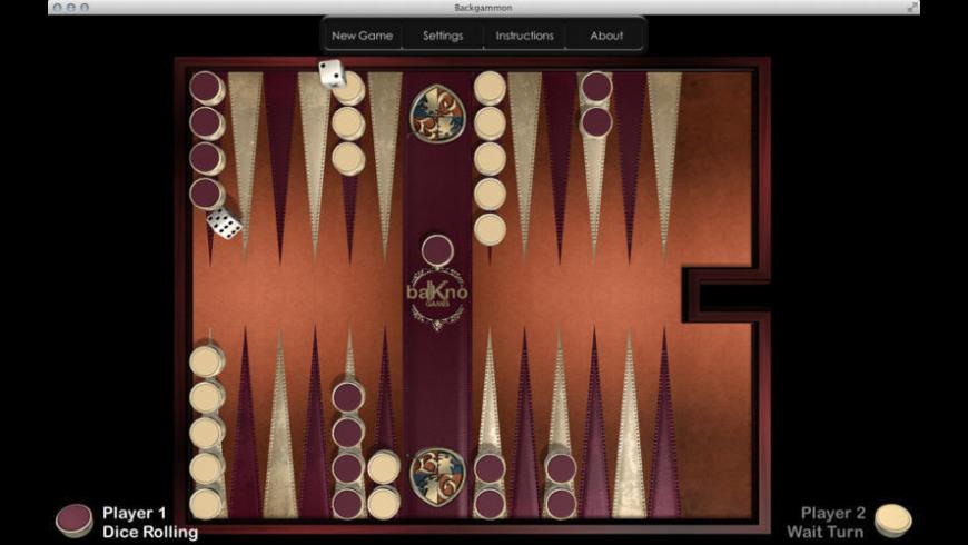 Backgammon HD for Mac - review, screenshots