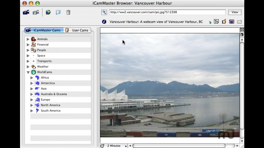 iCamMaster for Mac - review, screenshots