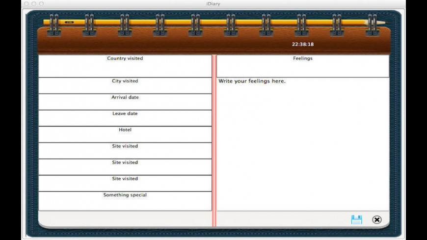 iNotebook for Mac - review, screenshots