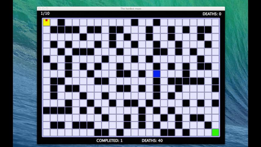The Hardest Maze for Mac - review, screenshots