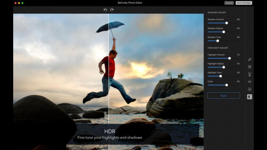 BeFunky Express for Mac - review, screenshots