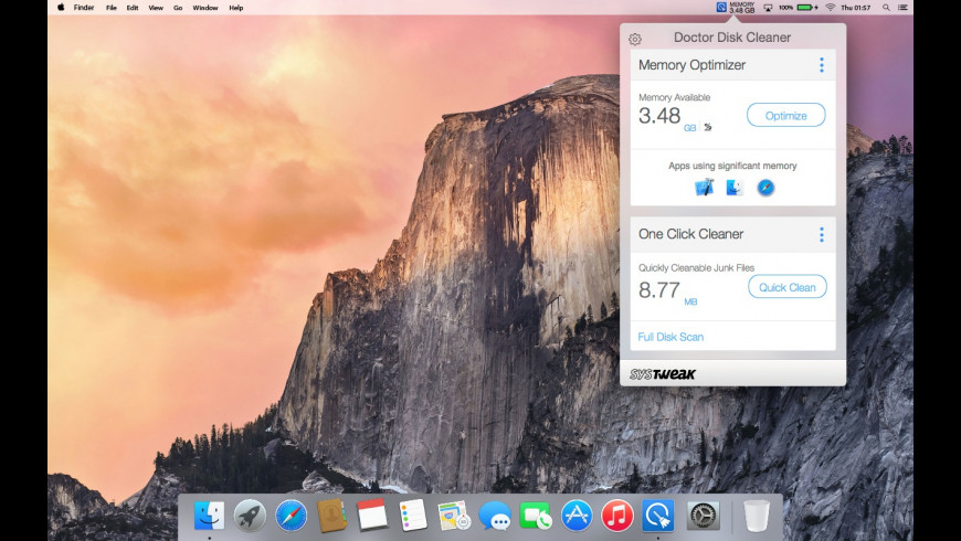 Doctor Disk Cleaner for Mac - review, screenshots