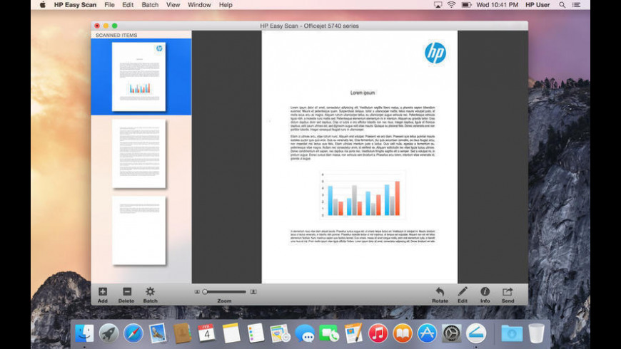HP Easy Scan for Mac - review, screenshots