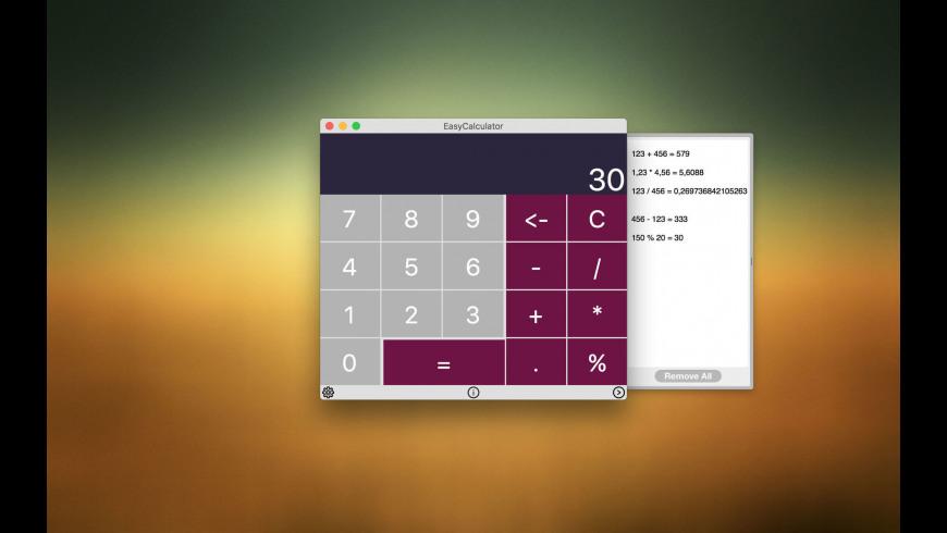 EasyCalculator for Mac - review, screenshots