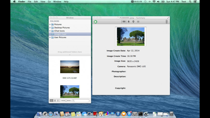 Image Exif Viewer for Mac - review, screenshots