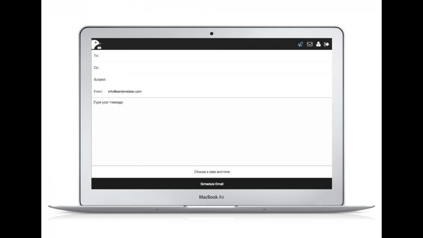SendMeLater for Mac - review, screenshots
