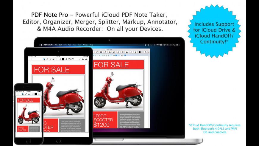 PDF Note Pro for Mac - review, screenshots