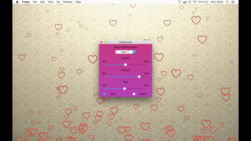 Falling Hearts for Mac - review, screenshots