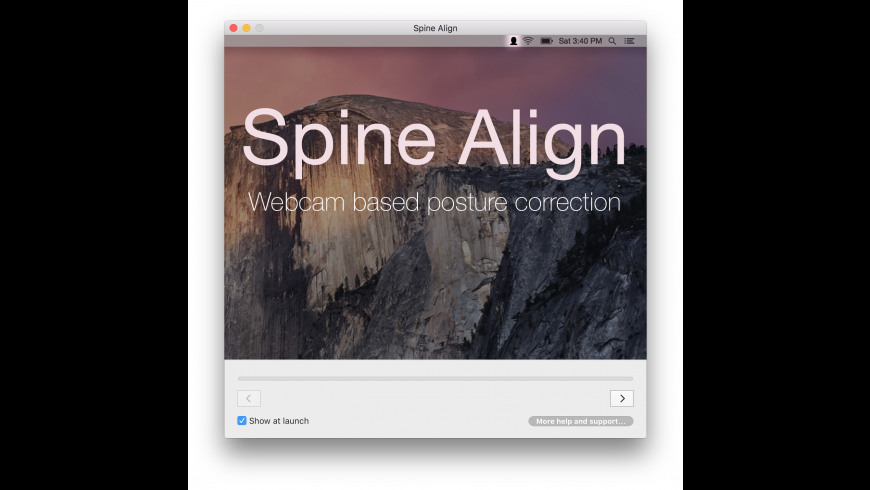Spine Align for Mac - review, screenshots