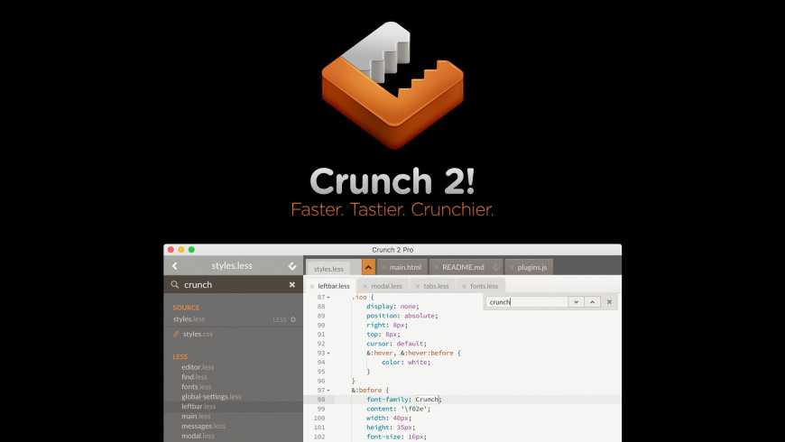 Crunch for Mac - review, screenshots