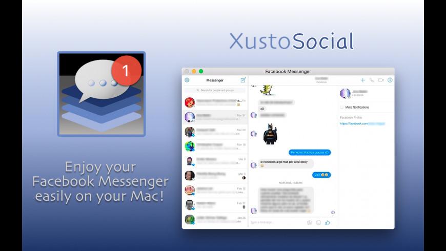 XustoSocial for Mac - review, screenshots