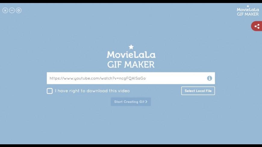 Gif Maker for Mac - review, screenshots