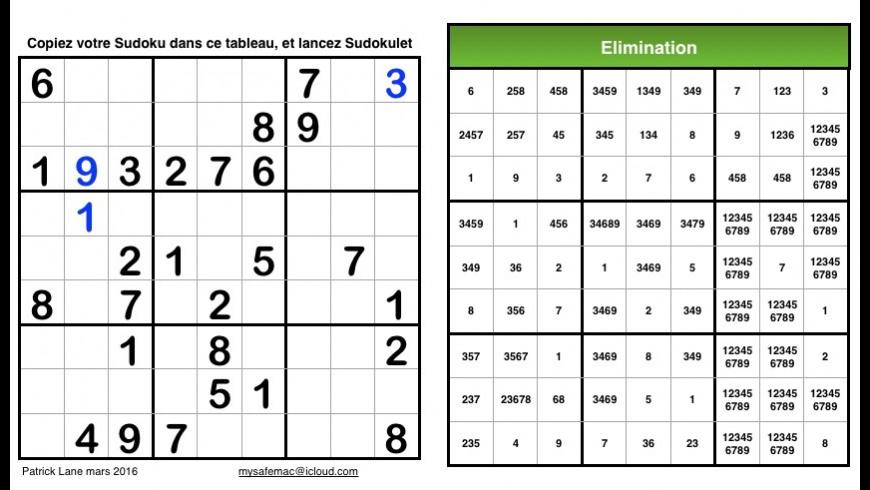 Sudokulet for Mac - review, screenshots