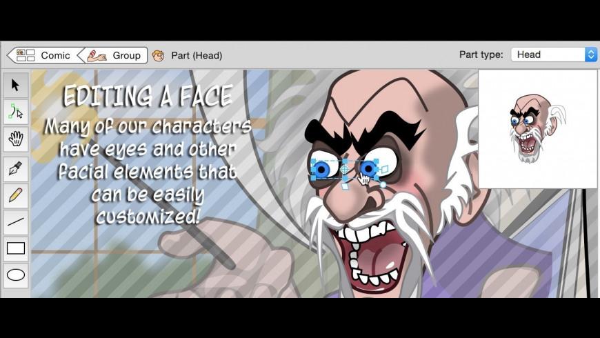 Comic Strip Factory for Mac - review, screenshots