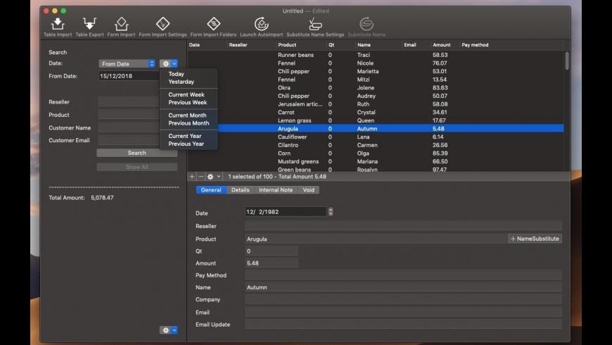 Orders for Mac - review, screenshots