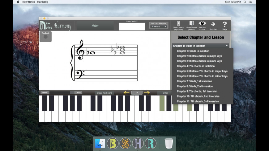 New Notes - Harmony for Mac - review, screenshots