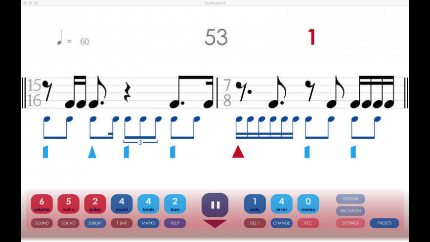 YouRhythm for Mac - review, screenshots