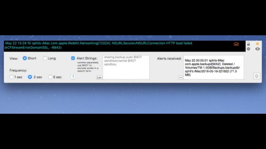 ConsoleSpy for Mac - review, screenshots