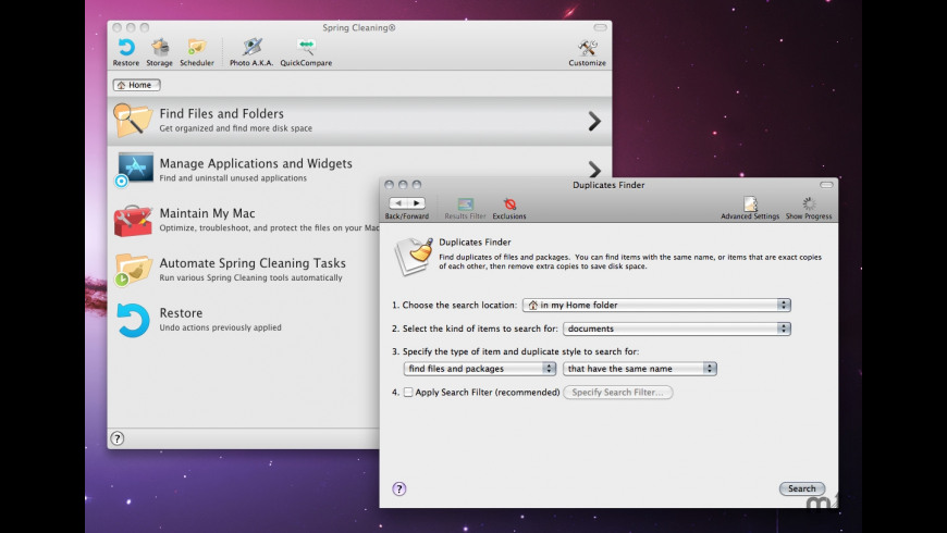 Spring Cleaning for Mac - review, screenshots