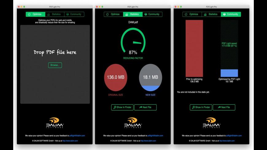 PDFLight for Mac - review, screenshots