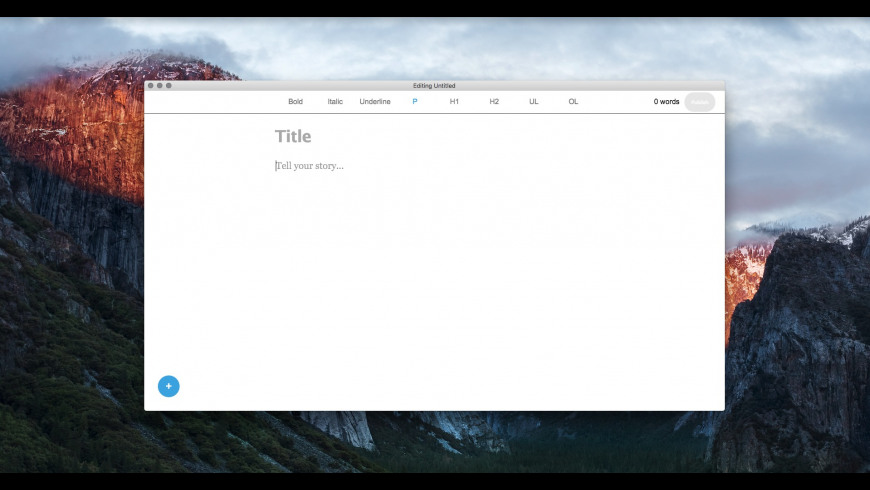 sMedium for Mac - review, screenshots