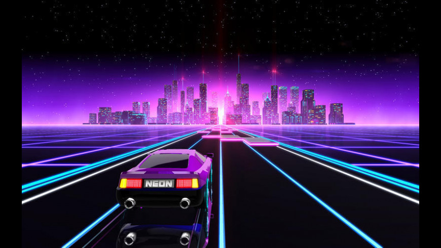 Neon Drive for Mac - review, screenshots