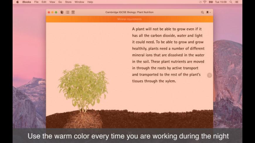 NightTone for Mac - review, screenshots