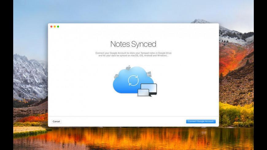 Tempad for Mac - review, screenshots