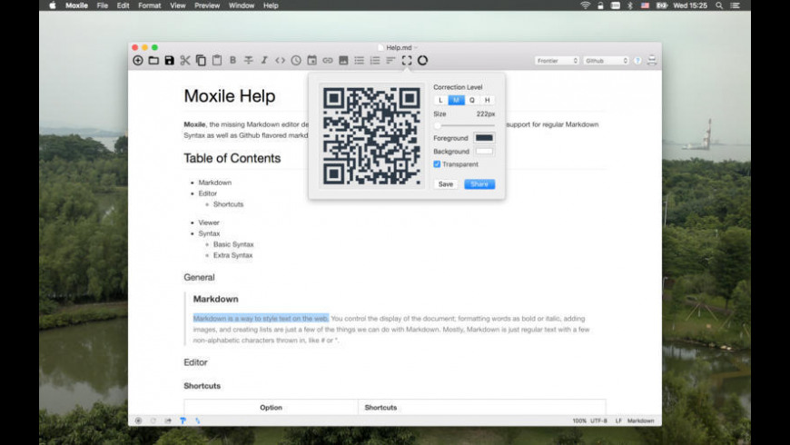 Moxile for Mac - review, screenshots