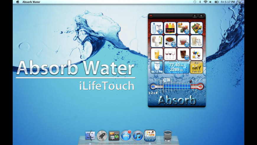 Absorb Water for Mac - review, screenshots