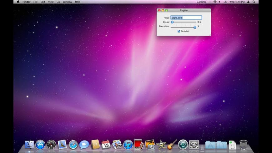 PingBar for Mac - review, screenshots