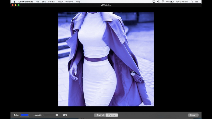 One Color Lite for Mac - review, screenshots