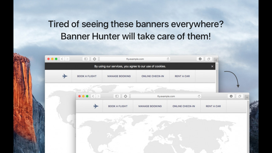 Banner Hunter for Mac - review, screenshots