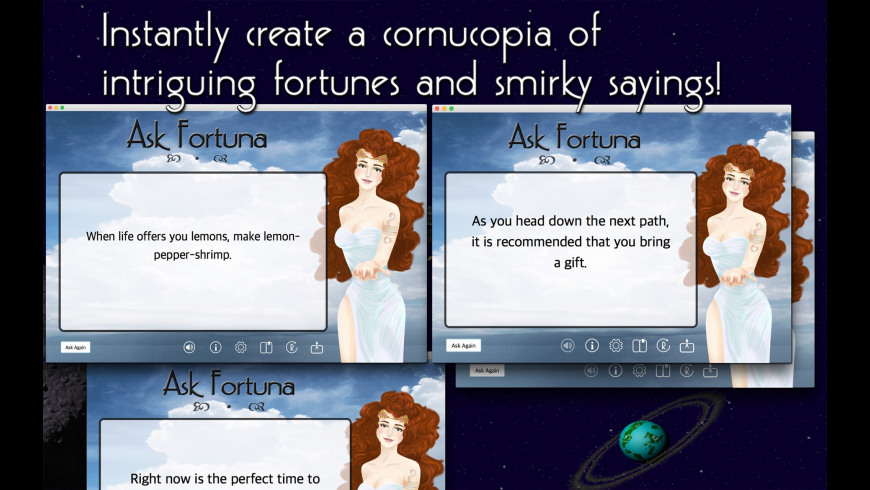 Ask Fortuna for Mac - review, screenshots