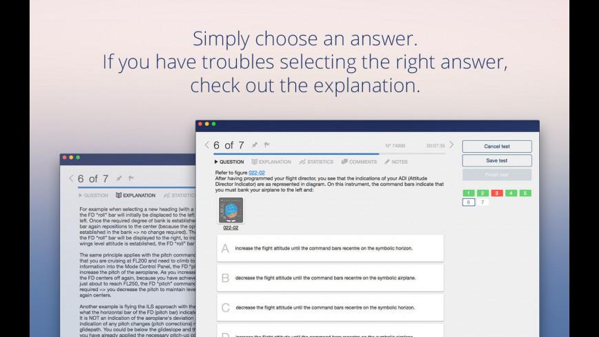 Aviation Exam for Mac - review, screenshots