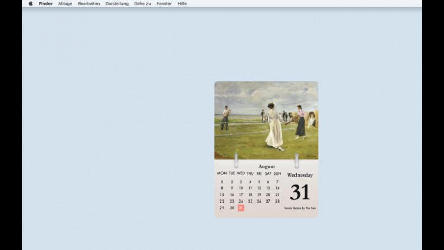 Calarty Max Liebermann for Mac - review, screenshots