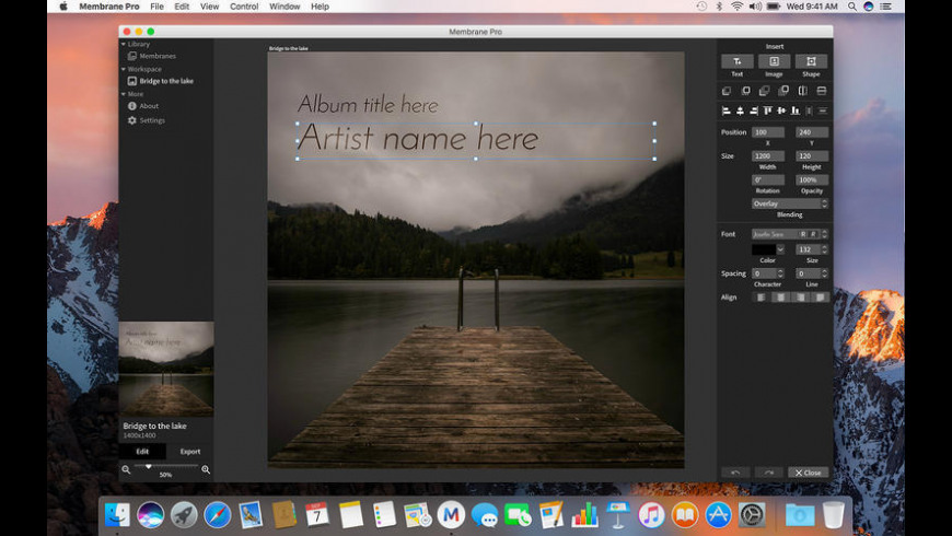 Membrane Pro for Mac - review, screenshots