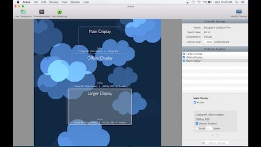 Arena for Mac - review, screenshots